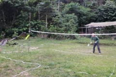 Badminton field